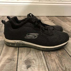 Black Sketchers Sketch Air Shoes